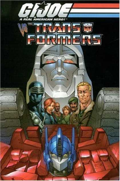Bestselling Comics (2006) - G.I. Joe Vs. The Transformers Volume 1 by Josh Blaylock - Tank - Threads - Robot - Mask - Group
