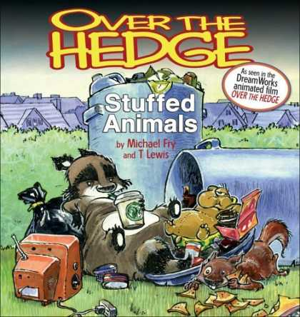 Bestselling Comics (2006) - Over the Hedge: Stuffed Animals by Michael Fry - Stuffed Animals - Michael Fry - T Lewis - Dreamworks - Animated Film