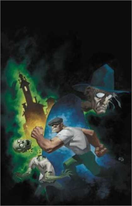 Bestselling Comics (2006) - The Goon Volume 1: Nothin' But Misery (Goon (Graphic Novels)) by Eric Powell - Dark Night - Skull Crusher - Watchful Witch - Super Strong Farmer - Witch Controller
