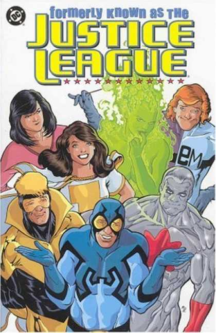 Bestselling Comics (2006) - Formerly Known as the Justice League by Keith Giffen - Justice League - Dc - Green Ghost - Stars - Gambit