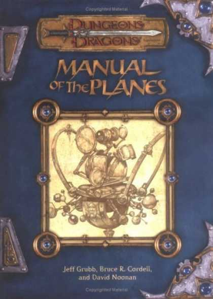 Bestselling Comics (2006) - Manual of the Planes (Dungeons & Dragons Supplement) by Jeff Grubb