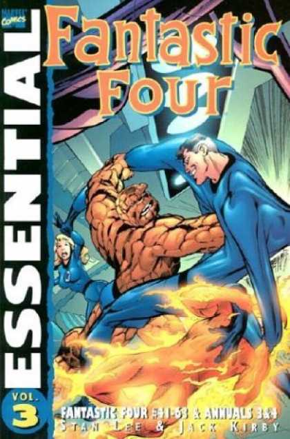 Bestselling Comics (2006) - Essential Fantastic Four, Vol. 3 (Marvel Essentials) by Stan Lee