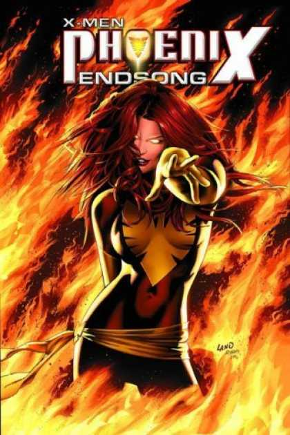 Bestselling Comics (2006) - X-Men: Phoenix - Endsong (X-Men (Graphic Novels)) by Greg Pak - Fired Up Heroine - Steamy Dominatrix Superhero - Burning Seductress - Fiery Demon - Red Headed Fury