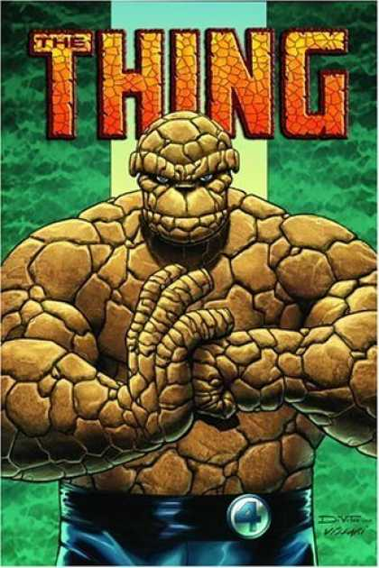 Bestselling Comics (2006) - The Thing: Idol Of Millions TPB by Dan Slott - The Thing - Superhero - Mutant - Fantastic Four Member - Dvf