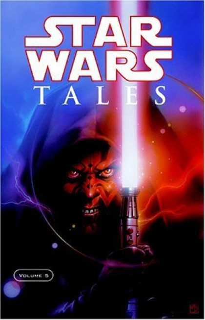 Bestselling Comics (2006) - Star Wars Tales, Vol. 5 by Andy Diggle - Star Wars - Tales - Light Saber - Darth Maul - Dark Side