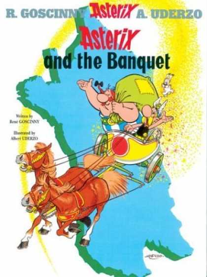 Bestselling Comics (2006) - Asterix and the Banquet (Asterix) by Rene Goscinny