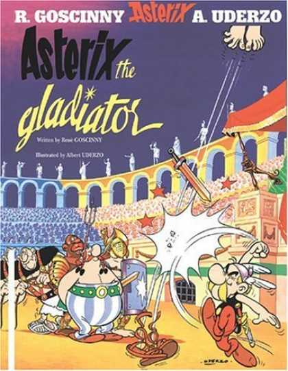 Bestselling Comics (2006) - Asterix the Gladiator (Asterix) by Rene Goscinny