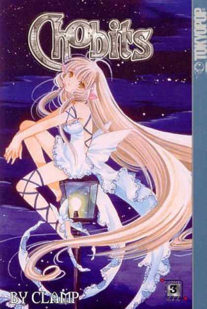 Bestselling Comics (2006) - Chobits VOL. 3 - Tokyopop - Clamp - Lamp - Light - Night