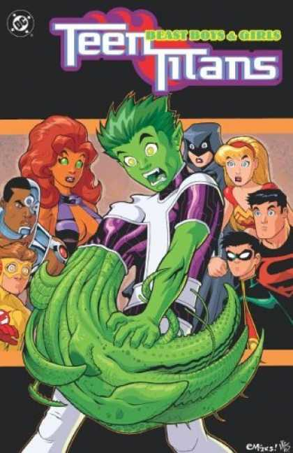 Bestselling Comics (2006) - Teen Titans: Beast Boys and Girls (Book 3) by Geoff Johns