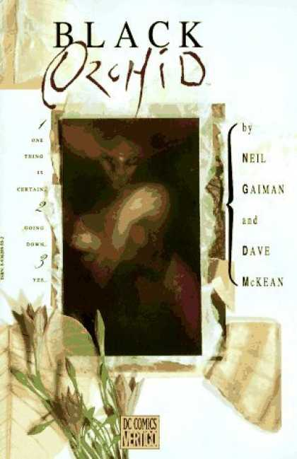 Bestselling Comics (2006) - Black Orchid by Dave McKean - Black Orchid - Neil Gaiman - Dc Comics - Vertigo - Dave Mckean