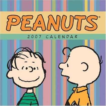 Bestselling Comics (2006) - Peanuts 2007 Mini Wall Calendar by Charles M. Schulz - Charlie Brown - Linus - 2007 Calendar - Peanuts - Stripes