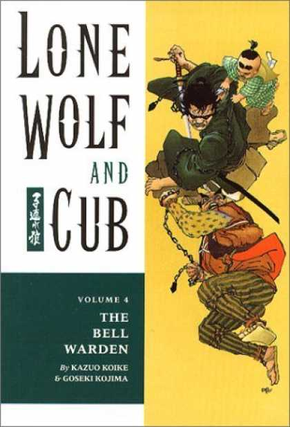Bestselling Comics (2006) - Lone Wolf and Cub 4: The Bell Warden by Kazuo Koike