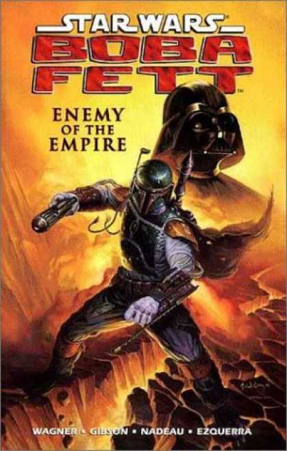 Bestselling Comics (2006) - Star Wars - Boba Fett: Enemy of the Empire by John Wagner - Boba Fett - Darth Vader - Enemy Of The Empire - Wagner - Gibson