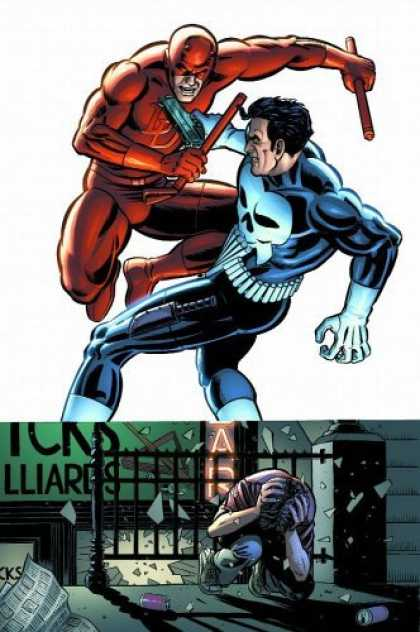 Bestselling Comics (2006) - Daredevil Vs. Punisher: Means & Ends TPB (Daredevil) by Dave Lapham