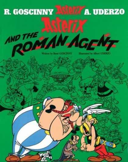Bestselling Comics (2006) - Asterix and the Roman Agent (Asterix) by Rene Goscinny