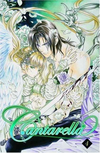 Bestselling Comics (2006) - Cantarella Volume 4 by You Higuri - Anime - Angel - Boy And Girl - Shirtless - Bloody Sword