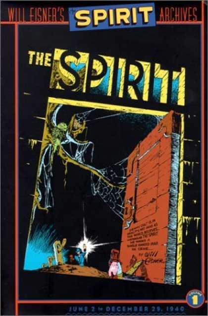 Bestselling Comics (2006) - The Spirit Archives, Vol. 1: June 2 - December 29, 1940 by Will Eisner