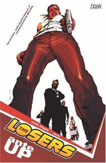 Bestselling Comics (2006) - The Losers (Vol.1): Ante Up by Andy Diggle - Man - Gun - Legs - Head - Pants
