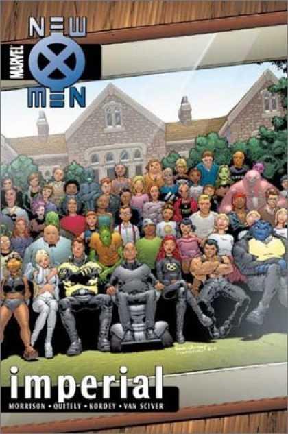 Bestselling Comics (2006) - New X-Men Vol. 2: Imperial by Grant Morrison - Surprise Heroes - Heroes Photo Group - Heroes Adventures - Special Edition - Heroes Together