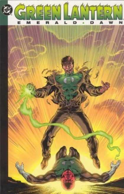 Bestselling Comics (2006) - Green Lantern: Emerald Dawn by Keith Giffen - Green Lantern - Emerald Dawn - Green - Green Ring - Dawn