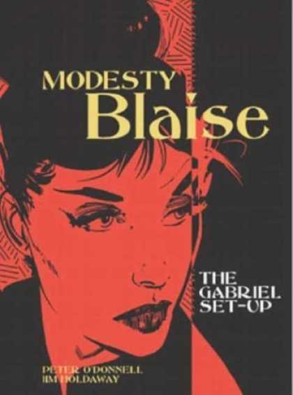 Bestselling Comics (2006) - Modesty Blaise: The Gabriel Set-Up (Modesty Blaise (Graphic Novels)) by Peter O'