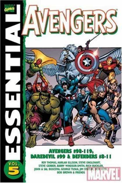 Bestselling Comics (2006) - Essential Avengers, Vol. 5 (Marvel Essentials) by Roy Thomas