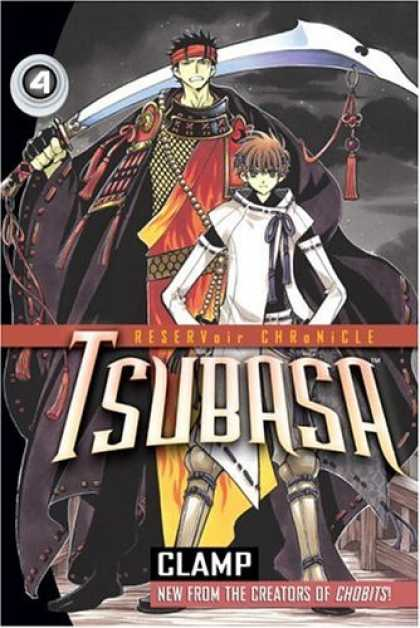 Bestselling Comics (2006) - Tsubasa 4: RESERVoir CHRoNiCLE (Tsubasa Reservoir Chronicle) by Clamp - Tsubasa - Reservoir Chronicle - Clamp - New From The Creators Of Chobits - Sword