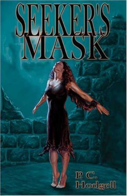 Bestselling Comics (2006) - Seeker's Mask by P. C. Hodgell - Woman In Nightgown - Starlit Night - Old Brick Walls - Woman Waiting To Be Taken To Heaven - Curly Brown Hair