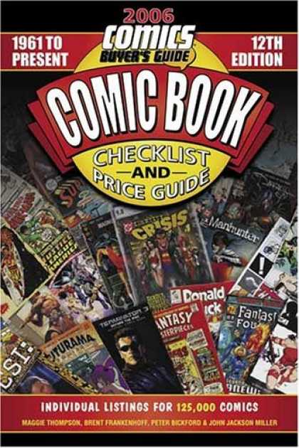 Bestselling Comics (2006) 1843 - Listings - 1961 - Buyers - Guide - Checklist