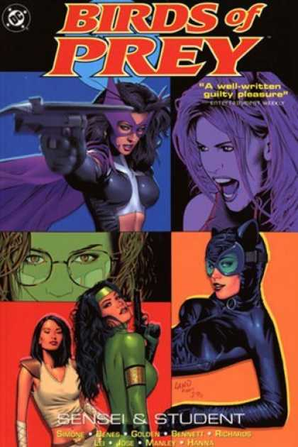 Bestselling Comics (2006) - Birds of Prey: Sensei & Student (Birds of Prey (Graphic Novels)) by Gail Simone - Guilty Pleasure - Sensei - Student - Hanna - Richards