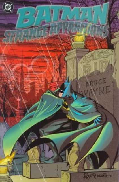 Bestselling Comics (2006) - Batman: Strange Apparitions by Steve Englehart - Batman - Strange Apparitions - Graveyard - Rip Bruce Wayne - Dc Comics