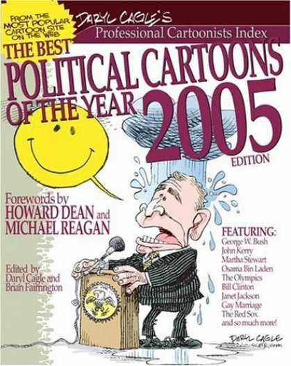 Bestselling Comics (2006) - The Best Political Cartoons of the Year, 2005 Edition (Best Political Cartoons o - Do Worry And Dont Be Happy - My Ears Arent At Big A Jupiter - Rain - What Rain - Hello - Can You Here Me Out There - Anybody Got A Twenty