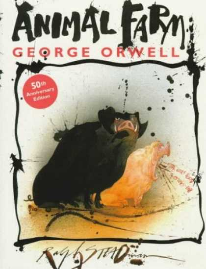 Bestselling Comics (2006) - Animal Farm: A Fairy Story by George Orwell - Animal Farm - George Orwell - 50th Anniversary - Pigs - Politics