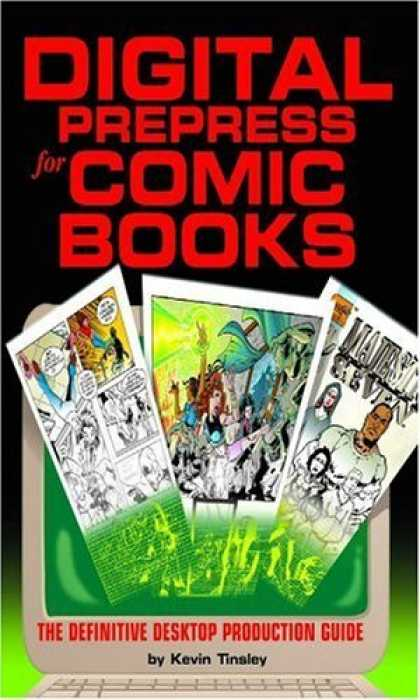 Bestselling Comics (2006) 1871 - Digital Prepress - Comic Books - Seven - The Definitive Desktop Production Guide - Kevin Tinsley