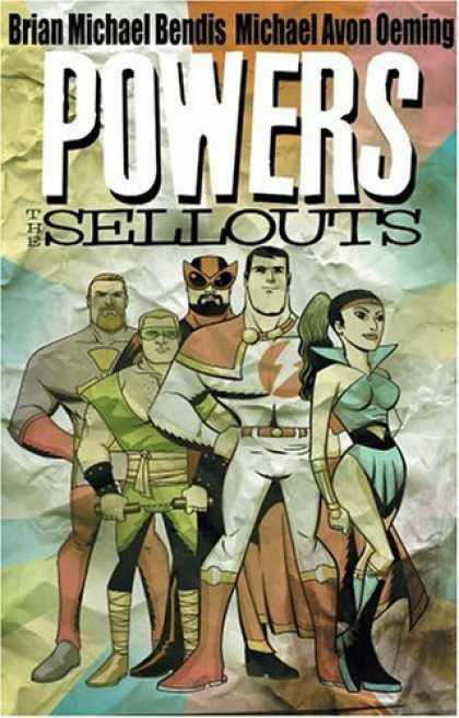Bestselling Comics (2006) - Powers Vol. 6: Sellouts by Brian Michael Bendis - Powers - Sellouts - Brian Michael Bendis - Michael Avon Oeming - Comic