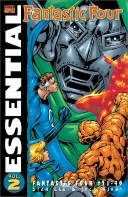 Bestselling Comics (2006) - Essential Fantastic Four, Vol. 2 (Marvel Essentials) by Stan Lee