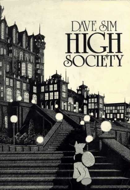 Bestselling Comics (2006) - High Society (Cerebus, Volume 2) by Dave Sim