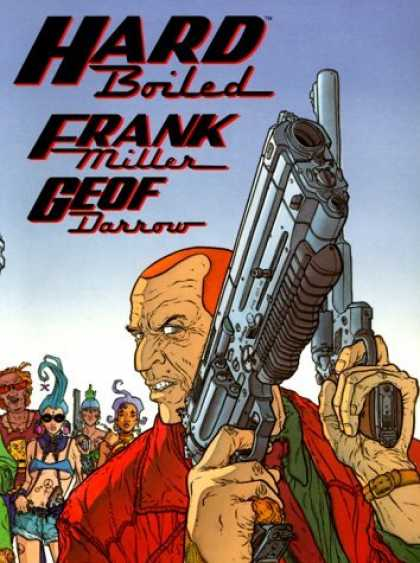 Bestselling Comics (2006) - Hard Boiled by Frank Miller