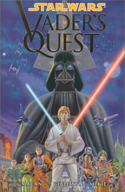 Bestselling Comics (2006) - Star Wars: Vader's Quest by Darko Macan