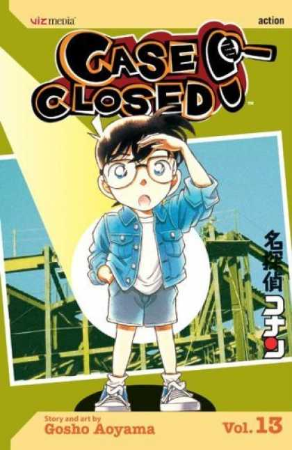 Bestselling Comics (2006) - Case Closed, Vol. 13 (Case Closed (Graphic Novels)) by Gosho Aoyama