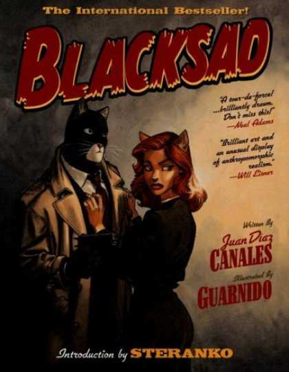 Bestselling Comics (2006) - Blacksad, Vol. 1 by Juan Diaz Canales - Cat - Juandiazcanales - Guardino - Internationalbestseller