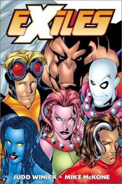 Bestselling Comics (2006) - Exiles Book One: Down the Rabbit Hole by Judd Winick