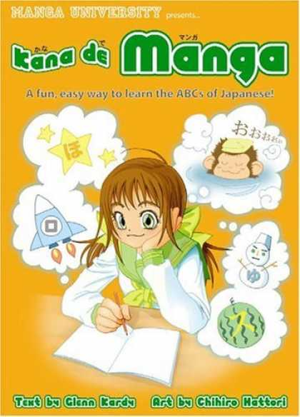 Bestselling Comics (2006) - Kana de Manga (Manga University Presents) by Glenn Kardy