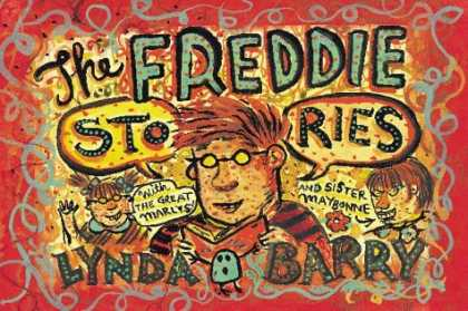 Bestselling Comics (2006) - The Freddie Stories by Lynda Barry - Boy - Girls - Red - Book - Glasses