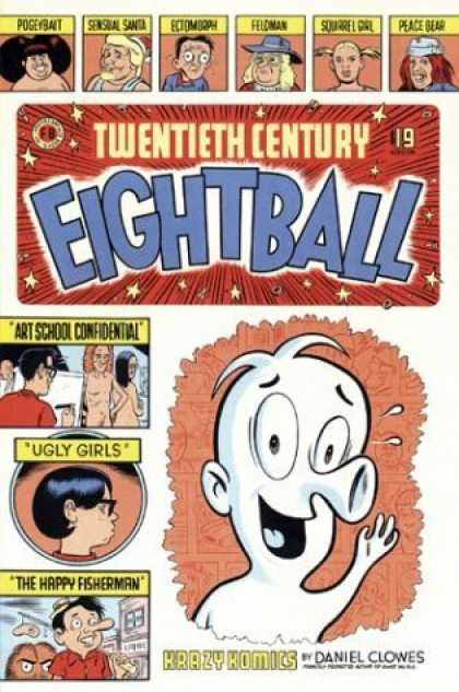 Bestselling Comics (2006) - Twentieth Century Eightball (20th Century Eightball) by Daniel Clowes - Sensational Sandra - Squirrel Girl - Eightball - Daniel Clowes - Krazy Komics