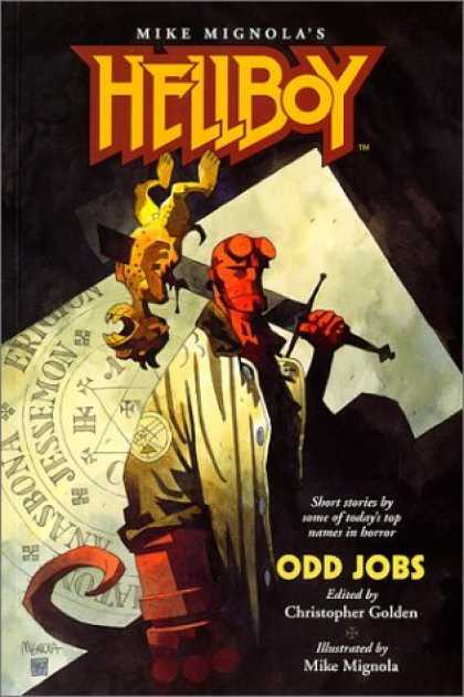 Bestselling Comics (2006) - Hellboy: Odd Jobs by Mike Mignola