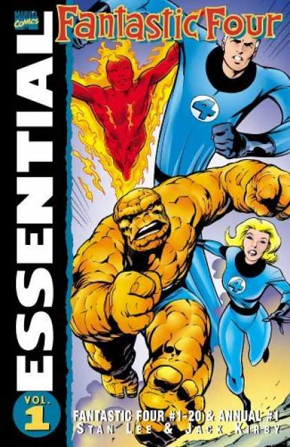 Bestselling Comics (2006) - Essential Fantastic Four, Vol. 1 (Marvel Essentials) by Stan Lee
