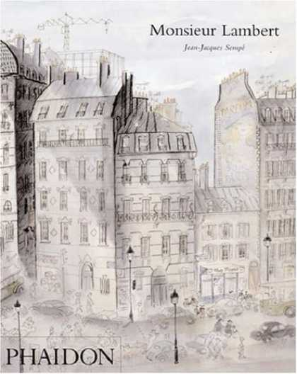 Bestselling Comics (2006) - Monsieur Lambert by Jean-Jacques Sempé - Cityscape - Crane - Hustle And Bustle - Traffic - Buildings
