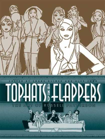 Bestselling Comics (2006) - Top Hats and Flappers: The Art of Russell Patterson - Tophats - Flappers - The Art Of Russell Patterson - Bed - Tie