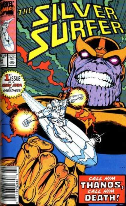 Bestselling Comics (2006) - Silver Surfer: Rebirth Of Thanos TPB (Silver Surfer) by Jim Starlin
